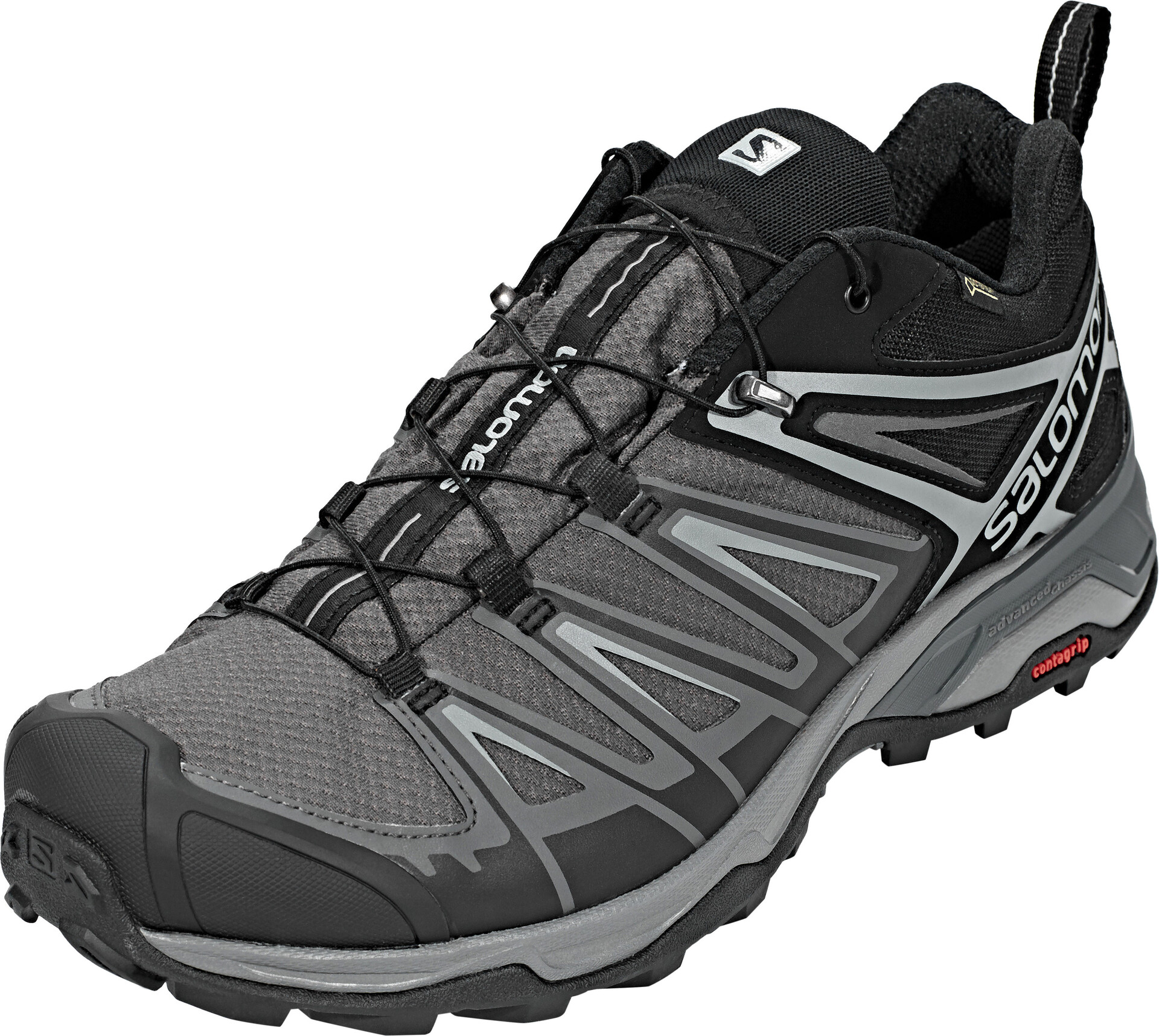 Salomon X Ultra 3 GTX Shoes Herren blackmagnetquiet shade